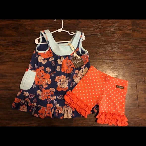 Matilda Jane No One Like You Tunic & shorties set
